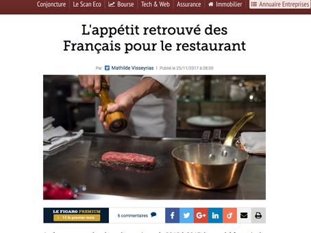 Le Figaro parle du The NPD Group à propose du marché de la restauration hors domicile
