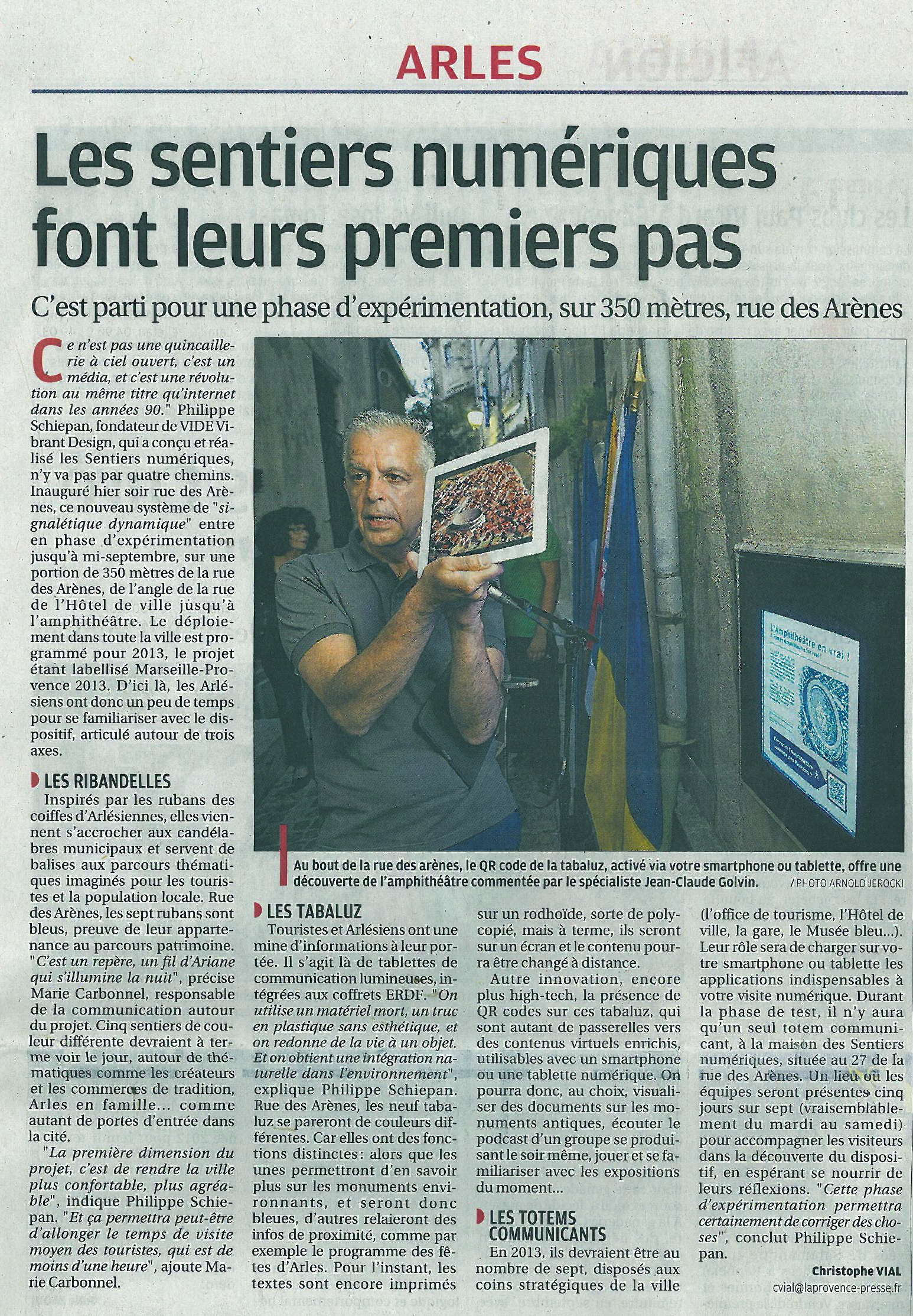 La Provence. Juin 2012