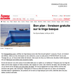 femmeactuelle.fr Juin 2013