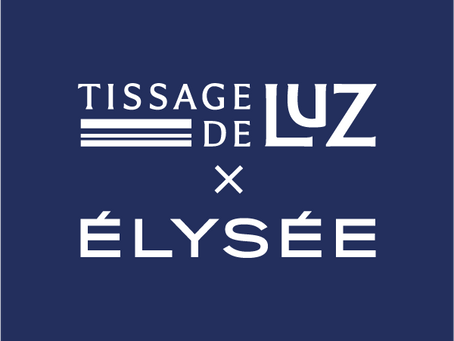 Collection capsule Boutique de l'Elysée x Tissage de Luz
