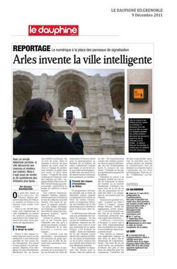 Le Dauphiné Libéré Nov 2012