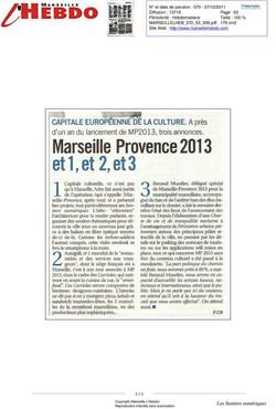 Marseille l'Hebdo