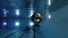 fridykning, dynamisk, freediving, monofinne