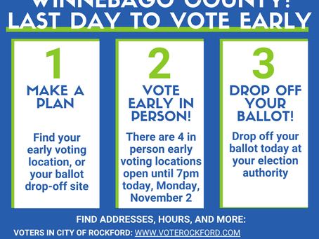 Last Day of Early Voting is Here