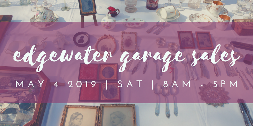 Edgewater Neighborhood Garage Sales