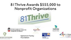 81Thrive Awards $555,000 to Seven Nonprofit Organizations