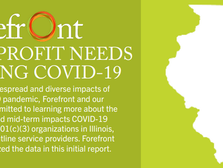 Forefront releases summary of Illinois' nonprofit needs during COVID-19