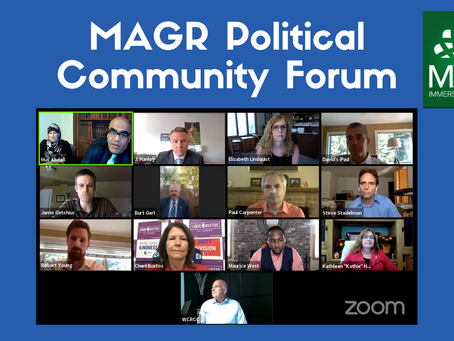 MAGR Political Community Forum