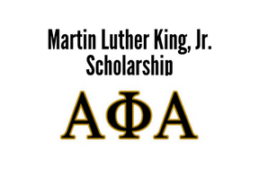 Martin Luther King, Jr. Scholarship