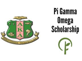 Pi Gamma Omega Scholarship