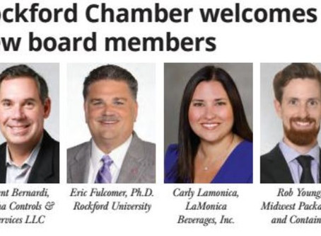 Robert Young welcomed as new Rockford Chamber board member