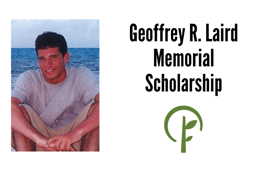 Photo of Geoffrey R. Laird and logo for the Community Foundation of Northern Illinois
