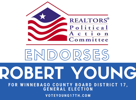 REALTORS® Political Action Committee endorses Robert Young