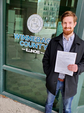 Robert Young files petition with Winnebago County Clerk