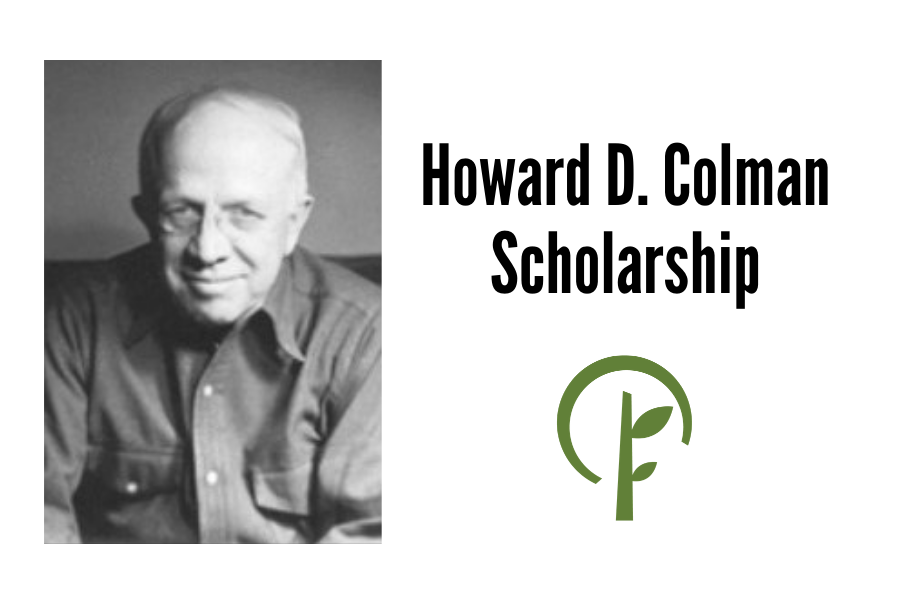Photo of Howard D. Colman and logo for the Community Foundation of Northern Illinois.