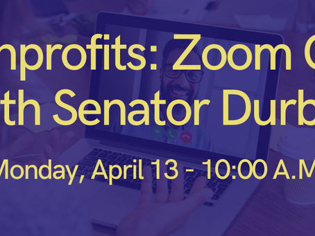 Senator Durbin to hold Zoom Call with Illinois Nonprofits