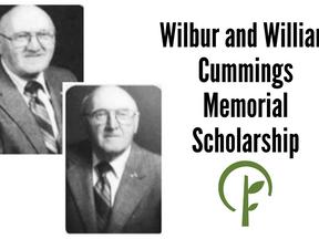 Wilbur and William Cummings Memorial Scholarship