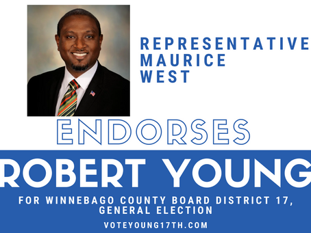 Robert Young Endorsed by Representative Maurice West