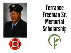 Terrance Freeman Sr. Memorial Scholarship