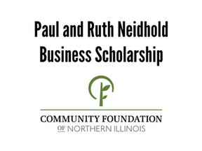 Paul and Ruth Neidhold Business Scholarship