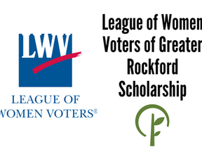 League of Women Voters of Greater Rockford Scholarship