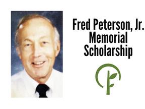 Fred Peterson, Jr. Memorial Scholarship
