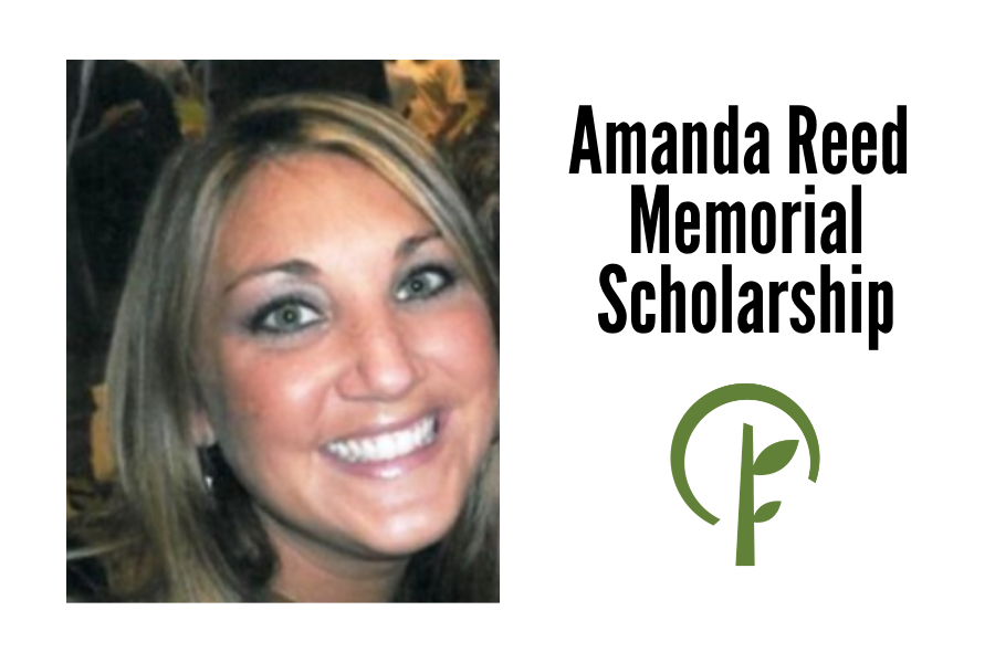 Photo of Amanda Reed and logo for the Community Foundation of Northern Illinois
