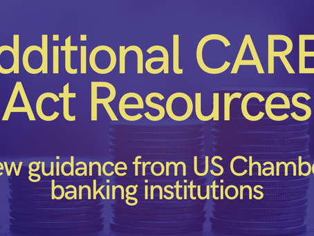 Additional CARES Act Resources