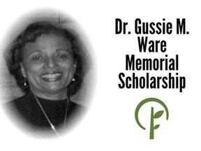 Dr. Gussie M. Ware Memorial Scholarship