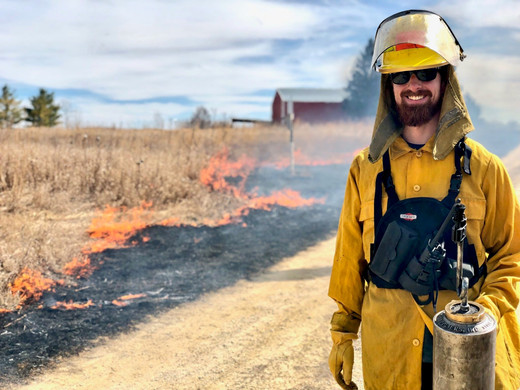 Mastering the controlled burn for conservation!