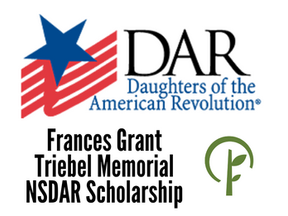 Frances Grant Triebel Memorial NSDAR Scholarship