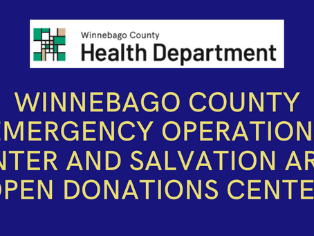Emergency Operations Center and Salvation Army Open Donations Center