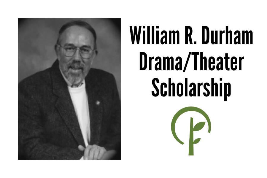 Photo of William R. Durham and logo of the Community Foundation of Northern Illinois.