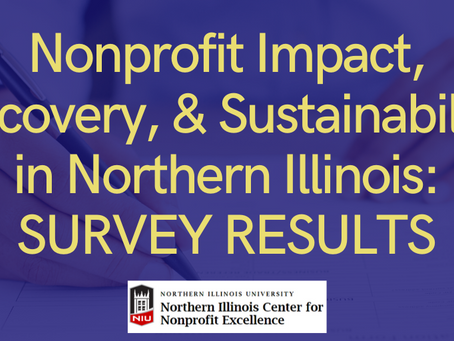 Nonprofit Impact, Recovery, & Sustainability in Northern Illinois