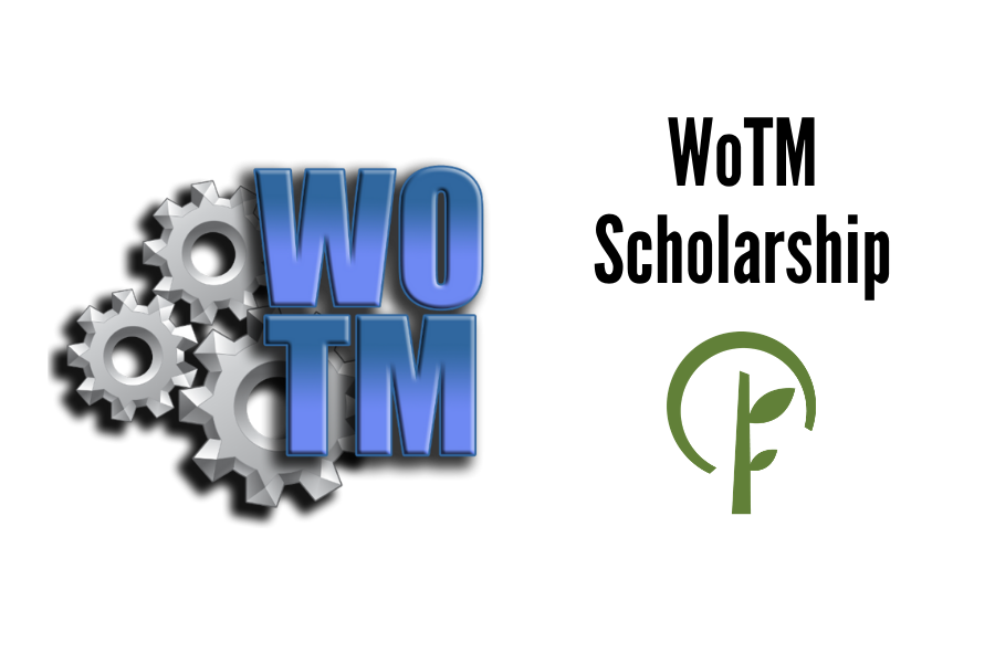 Logos for WOTM and the Community Foundation of Northern Illinois.