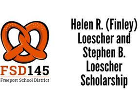 Helen R. (Finley) Loescher and Stephen B. Loescher Scholarship
