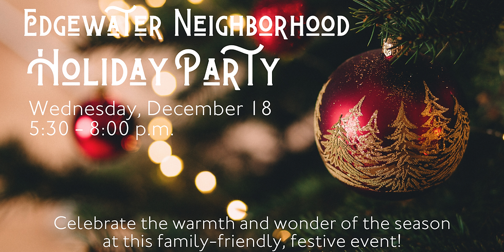 Edgewater Holiday Party 2019