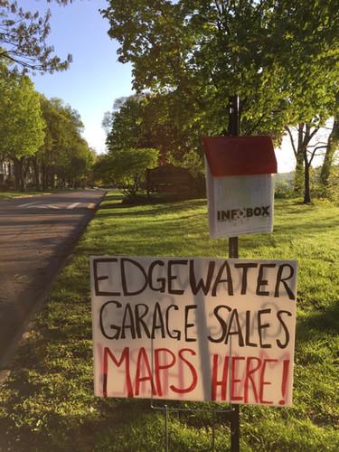 Neighborhood-wide garage sales