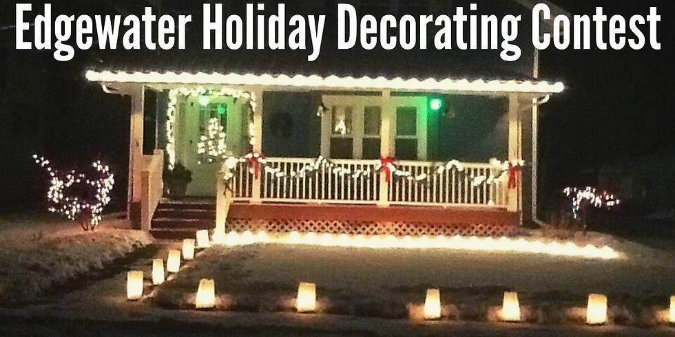 Edgewater Holiday Decorating Contest