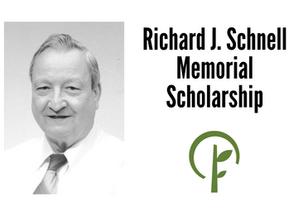 Richard J. Schnell Memorial Scholarship