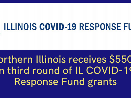 Illinois COVID-19 Response Fund Announces Third Round of Grants