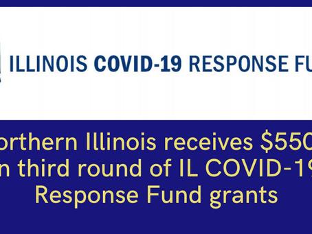 Illinois COVID-19 Response Fund Announces Third Round of Grants