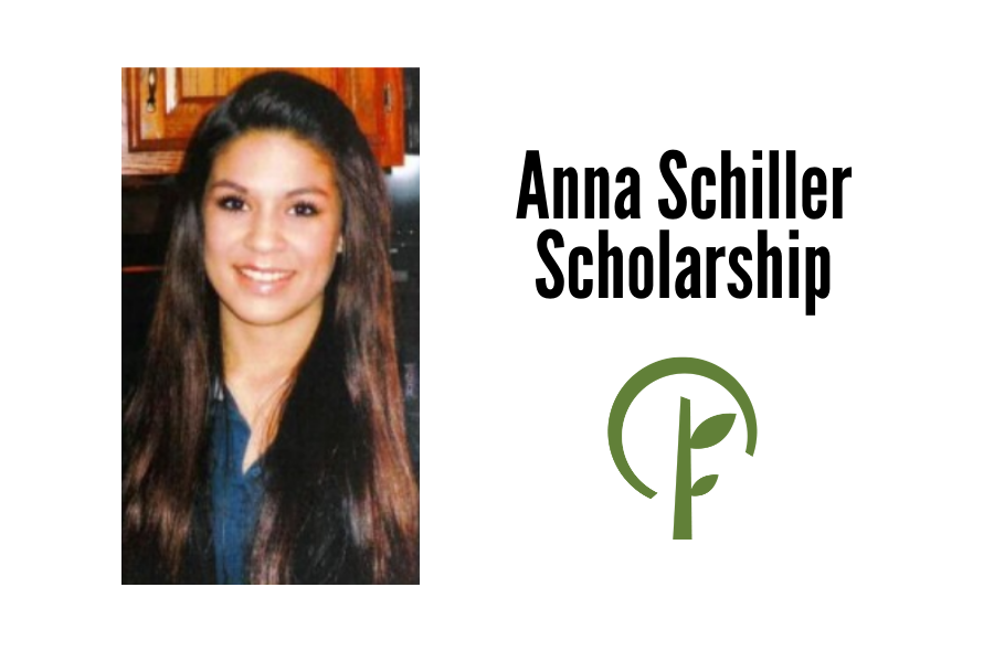 Photo of Anna Schiller and logo for the Community Foundation of Northern Illinois