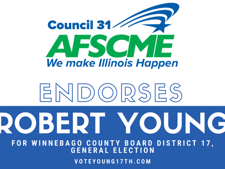 AFSCME Council endorses Rob Young for the General Election