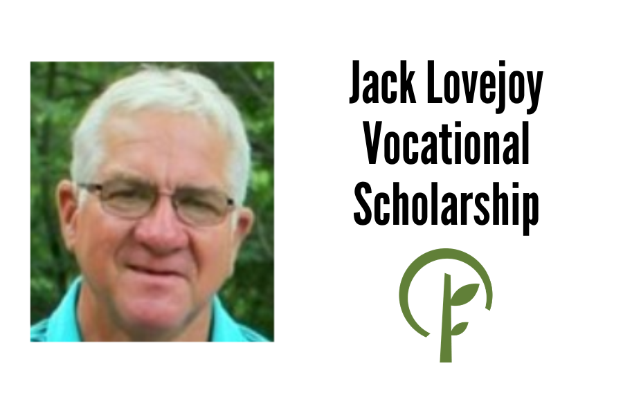 Picture of Jack Lovejoy. Logo for Community Foundation of Northern Illinois.