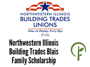 Northwestern Illinois Building Trades Blais Family Scholarship