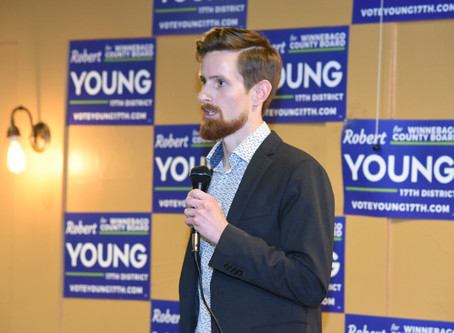 Robert Young Announces Election Bid for Winnebago County Board