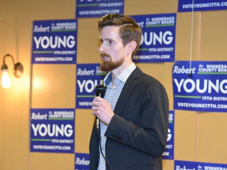 Robert Young Announces Election Bid for Winnebago County Board