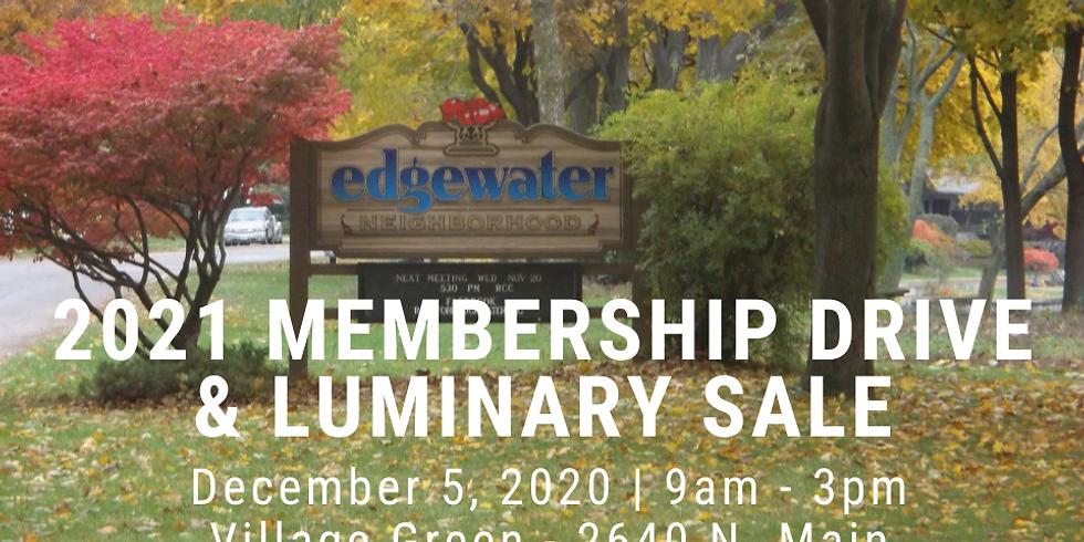 Membership Drive & Luminary Sale