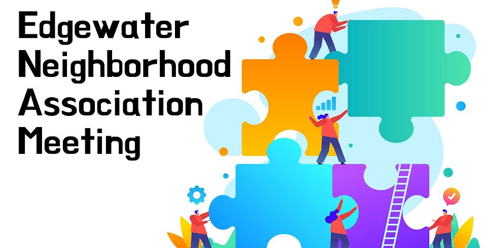 Edgewater Neighborhood Association May Meeting